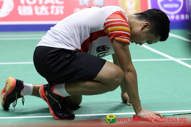 Anthony Ginting di Piala Sudirman